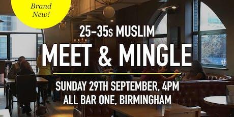 Muslim Meet and Mingle Social Evening - 25-35s | Birmingham tickets