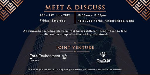MEET & DISCUSS – Over a cup of coffee