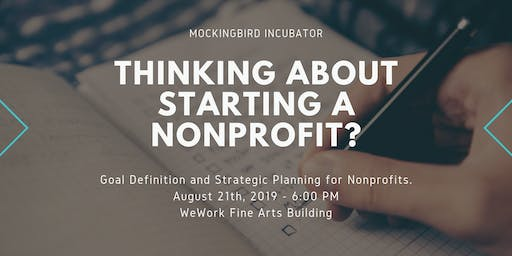 Goal Definition and Strategic Planning for Nonprofits