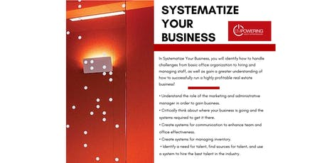 Systematize Your Business w/ Pam O'Bryant tickets