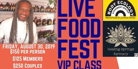 LIVE FOOD FEST MARRIOTT VIP PASS tickets