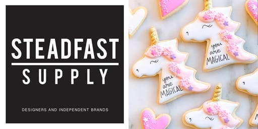DIY Workshop | Cookie Decorating | Hosted by Meghan Bakes