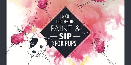 Paint & Sip For Pups tickets