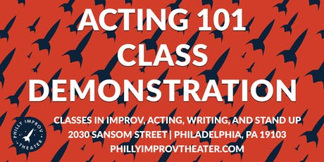 Class Demonstration: Acting 101 with Tanya Morgan tickets