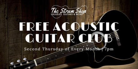 Free Monthly Acoustic Guitar Club tickets