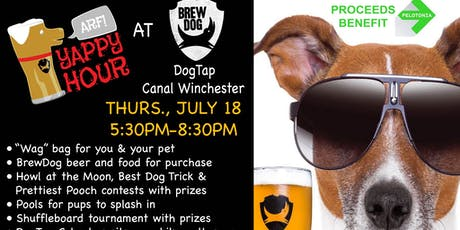 Yappy Hour at BrewDog DogTap tickets