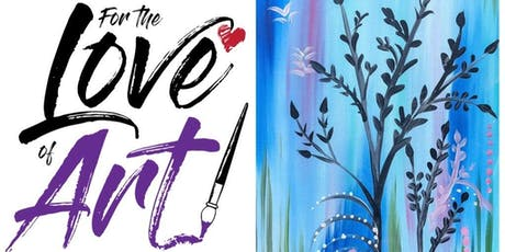 Paint and Sip Class: Graphic Flower Reeds tickets