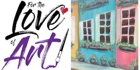 Paint and Sip Class: Charleston Sidewalk tickets