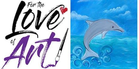Painting Class: Dolphin Folly tickets