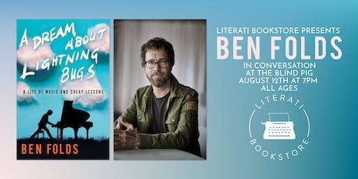 Literati Bookstore Presents Ben Folds