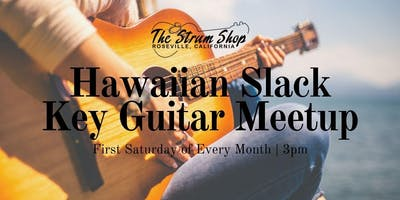 Free Monthly Hawaiian Slack Key Guitar Meetup