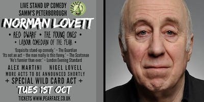 Live Stand up Comedy with headliner Norman Lovett