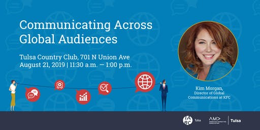 Communicating Across Global Audiences with Kim Morgan-KFC