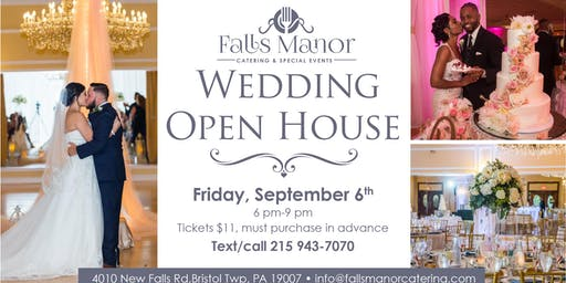 Fall  Wedding Open House at Falls Manor
