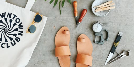Handmade Leather Sandals by Wilkie Sucher