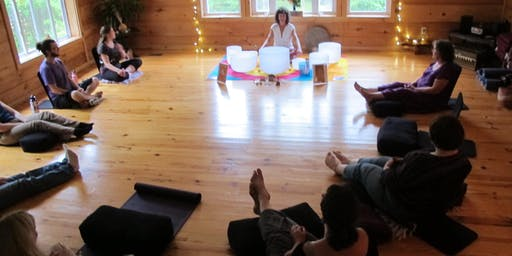 Crystal Bowl Meditation with Marci Star