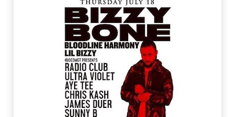 Bizzy Bone (from Bone Thugs-n-Harmony) @ Holy Diver tickets