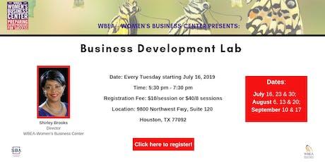 Business Development Lab tickets