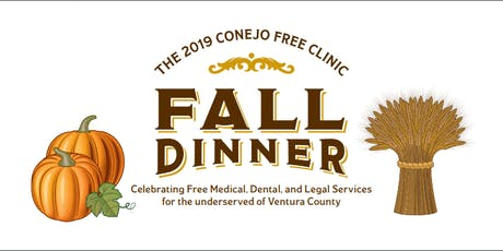 2019 Conejo Free Clinic Fall Dinner tickets