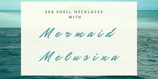 Sea Shell Necklaces W/ Mermaid Melu