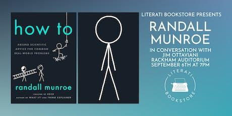 Literati Bookstore Presents Randall Munroe tickets