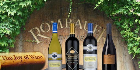 A six course dinner paired with selected wines from Rombauer Vineyards at Le Colonial  tickets