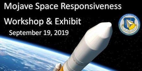 Mojave Space Responsiveness  Workshop & Exhibit tickets