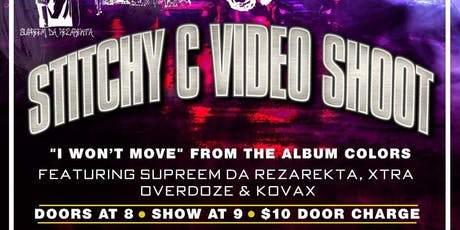 Stitchy C Video Shoot tickets
