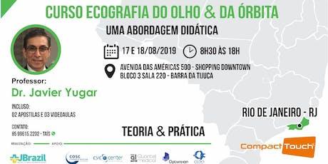 OFTALMOLOGIA - Ecografia do Olho e da Órbita - RIO DE JANEIRO/RJ ingressos