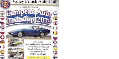 2019 CLOVIS EUROPEAN AUTO ROUNDUP