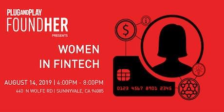 FoundHER Presents: Women in Fintech tickets