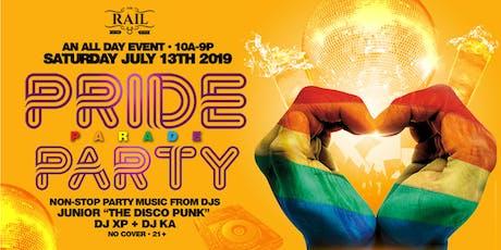 Pride Parade Party 2019 tickets