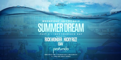 "PROFUNDO DAY CLUB POOL PARTY JULY 3 ""SUMMER DREAM"" tickets"