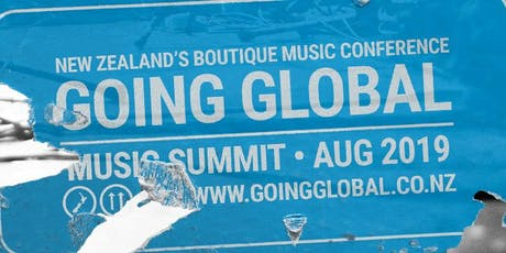 Going Global Music Summit 2019 tickets