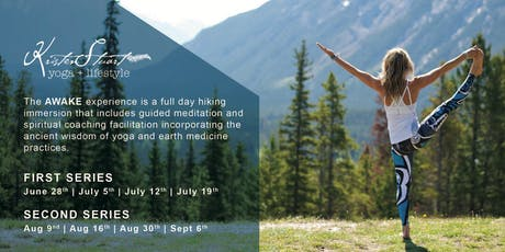 AWAKE in the Rockies: Hiking + Meditation Journeys  tickets