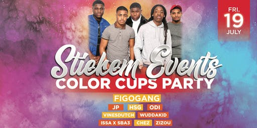 Stiekem Events - Color Cups Party