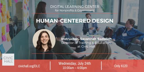 Human-Centered Design for Nonprofits & Government tickets