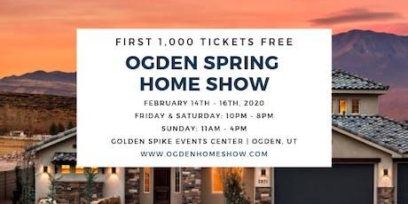 Ogden Spring Home Show tickets