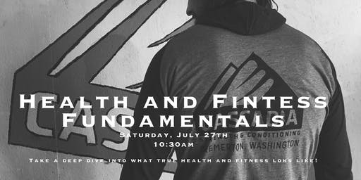 Health and Fitness Fundamentals