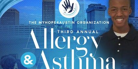 The MyHope4Austin 3rd Annual Asthma & Allergy Awareness Walk & Run tickets