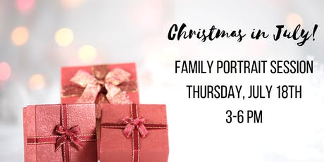 """Christmas in July"" Family Portrait Session with Amy K Wright Photography tickets"