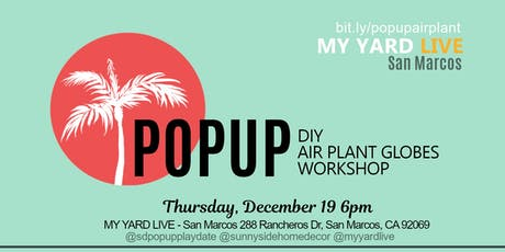 DIY Air Plant Globe PopUp Workshop tickets