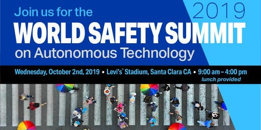 Velodyne Lidar Hosts World Safety Summit on Autonomous Technology, Oct. 2