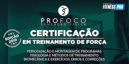 Certificação em Treinamento de Força 2019