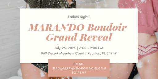 MARANDO Boudoir Grand Reveal Event