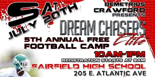Dream Chasers Elite 5th Annual Football Camp