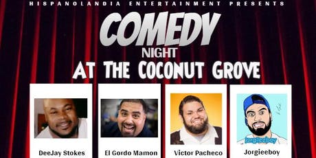 Comedy Night at The Coconut Grove tickets