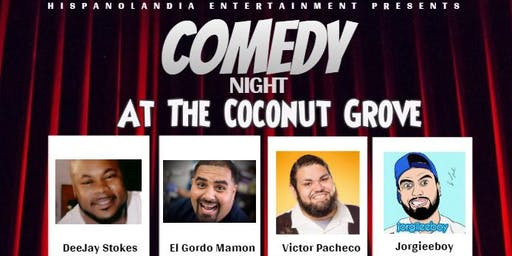 Comedy Night at The Coconut Grove