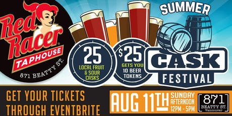 Summer Cask Festival @ Red Racer Taphouse  tickets