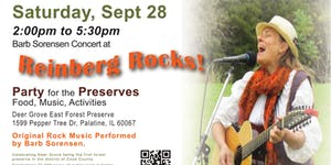 Reinberg Rocks! - Concert by Barb Sorensen Sept. 28th,...